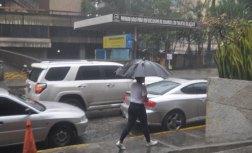 Las lluvias llegaron a la capital / Foto: Lisandro Casaña