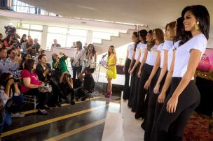 Candidatas al Miss Venezuela / Foto EFE