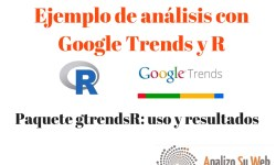 Ejemplo de análisis de Google Trends con R