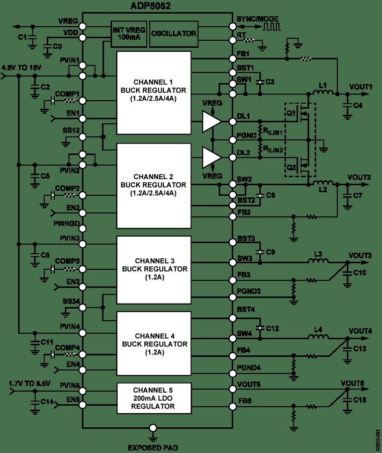 Diagram Adg715 Datasheet And Product Info Diagram Schematic Circuit
