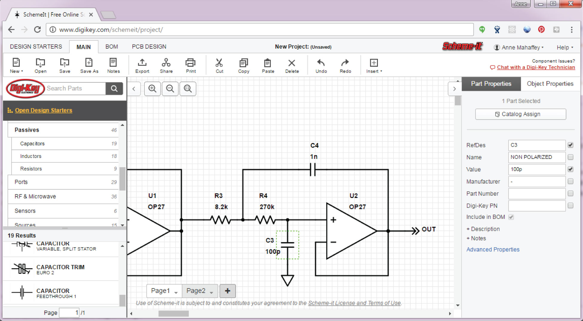 The Schematic Diagram: A Basic Element of Circuit Design