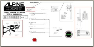 Alpine 3215 Wiring connection diagram, Analog Alley Manuals