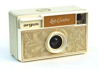 Fotografía de una cámara Argus Lady Carefree