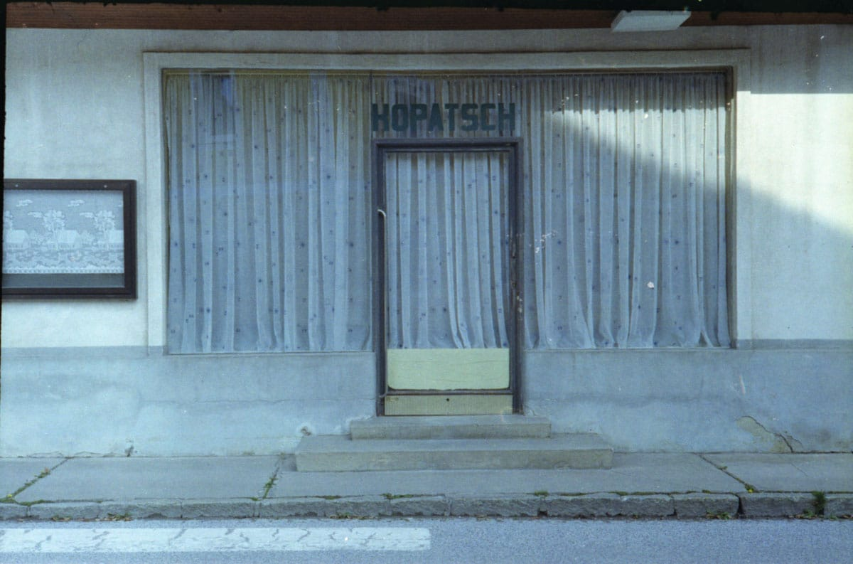 Abandoned & Rare Shops. Camera: Zorki 1, Film: Kodak 200.