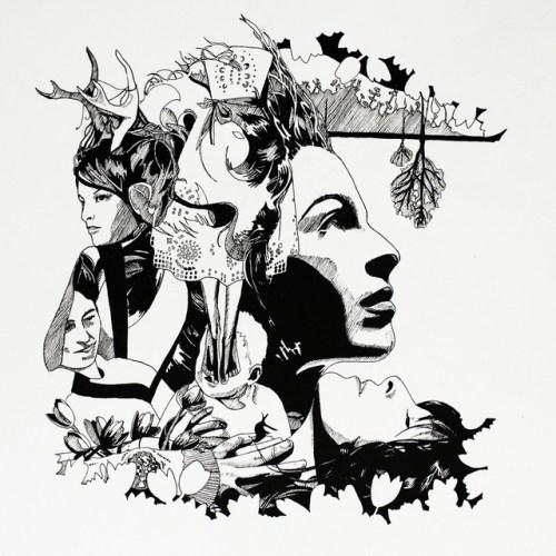 Undress album art by Melanie Knott