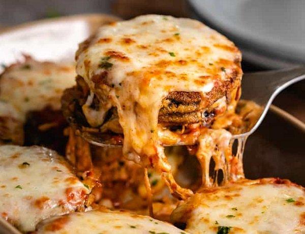 البارميجانا الايطالية بالباذنجان
