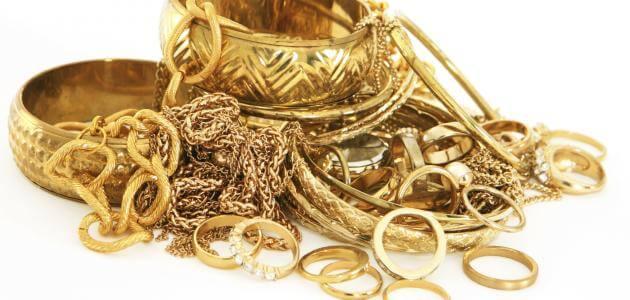 تفسير رؤية الذهب في المنام بالتفصيل
