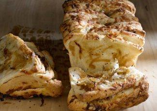 طريقة عمل خبز البصل