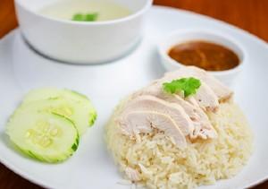 صدور الدجاج بالخضار والارز للريجيم