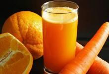 Photo of تحضير عصير البرتقال والجزر