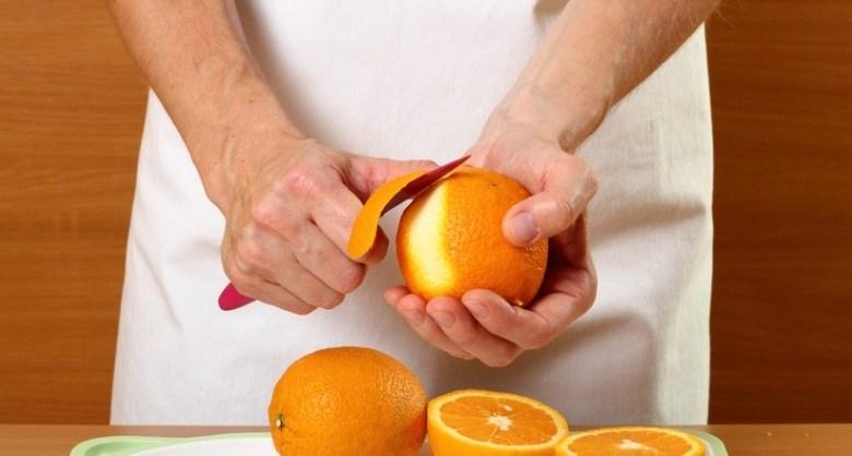 فوائد قشور البرتقال لازالة المكياج