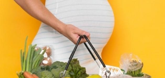 افضل نظام غذائى صحى للمرأة الحامل