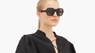Photo of اجمل نظارات شمسية باللون الاسود لخريف 2020