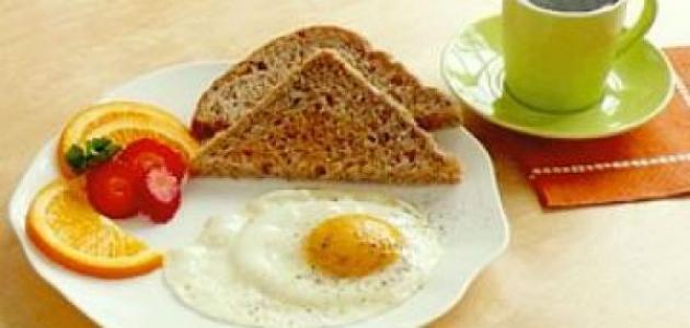 الفطور المناسب للريجيم