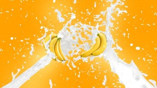 وصفة الموز والحليب لتبييض الوجه