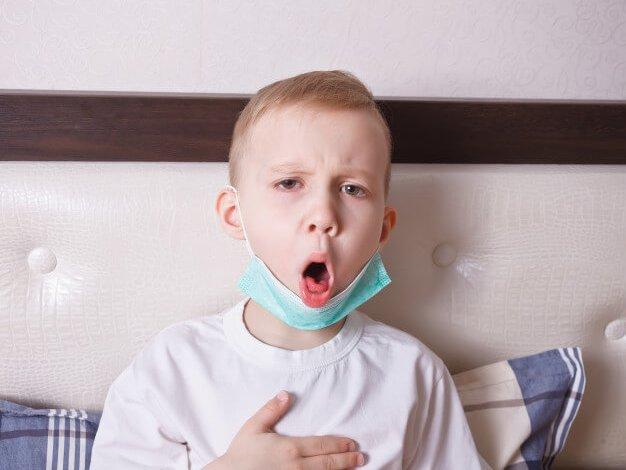 علاج الكحة عند الأطفال وقت النوم بالاعشاب