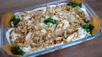 Photo of طريقة عمل فتة الدجاج بالزبادي
