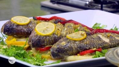 Photo of طريقة عمل سمك مشوي بالزيت والليمون في الفرن
