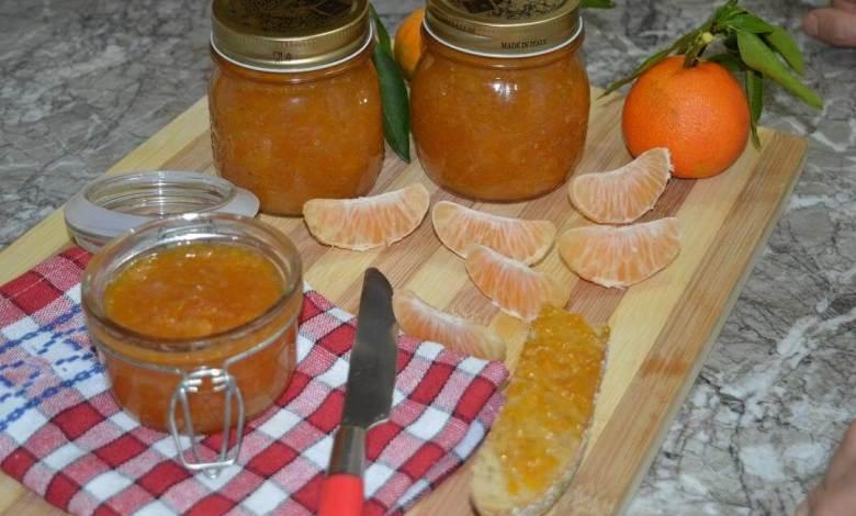 طريقة عمل مربى اليوسفى والبرتقال