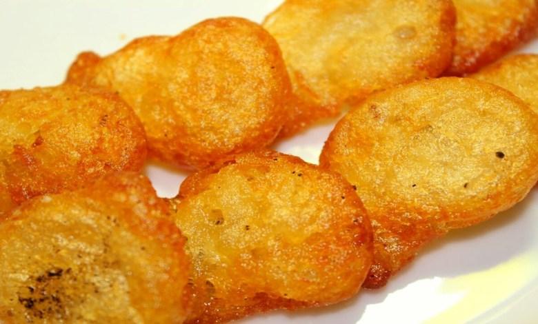 طريقة عمل البطاطس المهروسة المقلية