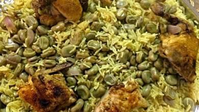 Photo of طريقة عمل مقلوبة الفول بالدجاج