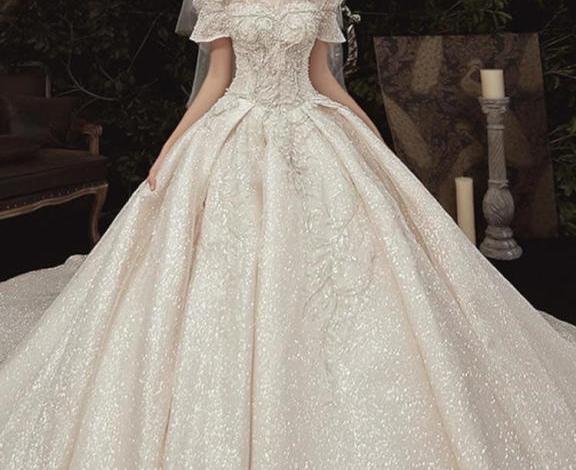 احدث تصميمات فساتين الزفاف لعام 2020