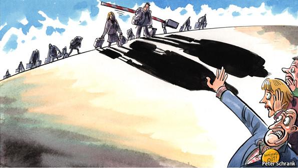 ΕΙΚΟΝΑ - Ευρώπη, μετανάστευση Η Ευρώπη αργοπεθαίνει