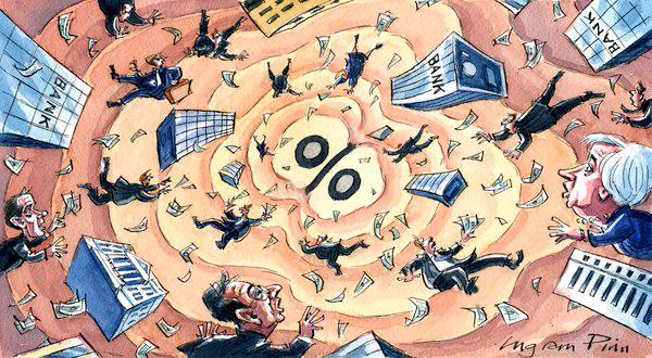 ΕΙΚΟΝΑ---Επιτόκια,-κρίση,-FED,-EKT,-κεντρικές-τράπεζες Ώρα μηδέν για τον πλανήτη