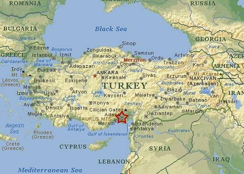 ΧΑΡΤΗΣ - Τουρκία