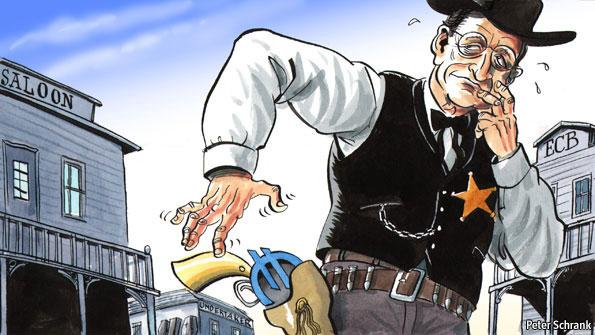 Ο σερίφης της Ευρωζώνης