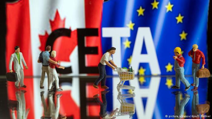 Η ελληνική FETA και η καναδική CETA