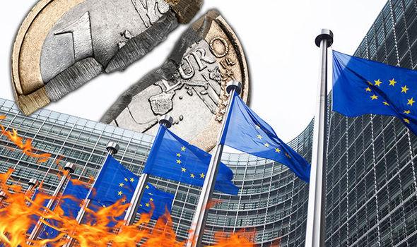 Η κατάρρευση της ΕΕ και της Ευρωζώνης
