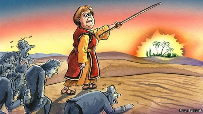 Η άτρωτη καγκελάριος και η γερμανική Ευρώπη