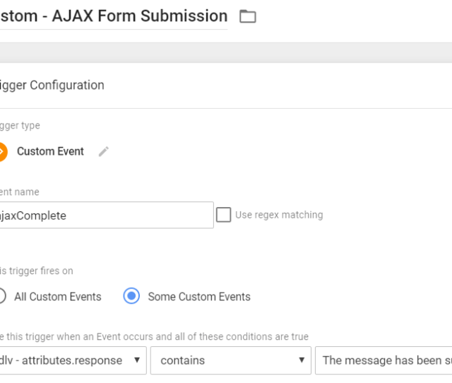 Custom Trigger Ajax Complete Form Submission