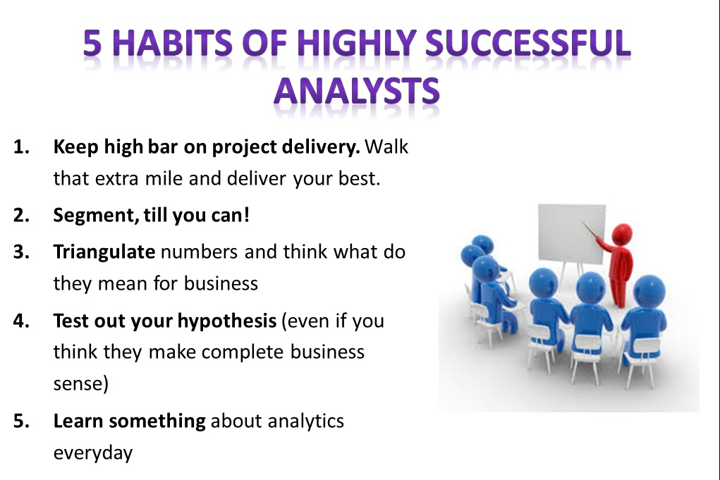 Habits of successful analysts