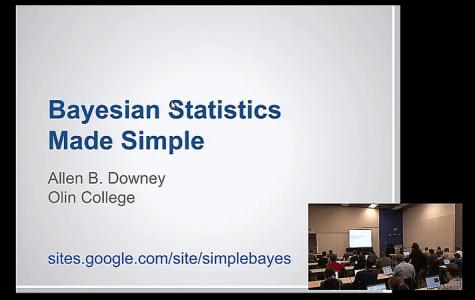 Bayesian statistics in Python