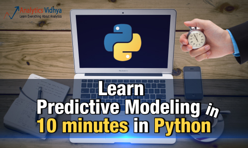 predictive modeling in python in 10 minutes