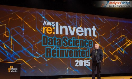 AWS re:invent 2015, data science. analytics