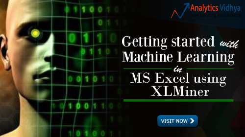 machine learning using xlminer