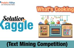 Kaggle Solution: What's Cooking ?  (Text Mining Competition)