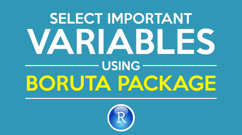 tutorial on using boruta package in R