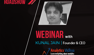 Webinar – Why (or why not) become a Data Scientist, Speaker Kunal Jain, 7 Dec 2016