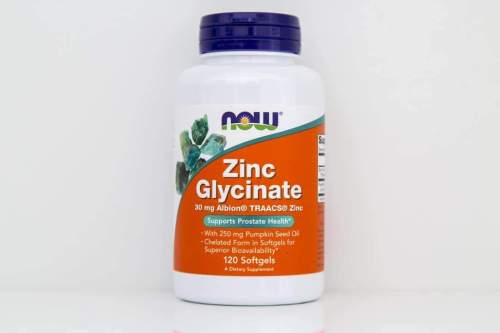 Zinc Glycinate Softgels