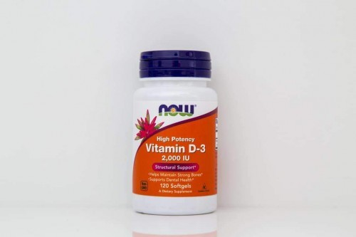 Vitamin D-3 2,000 IU Softgels
