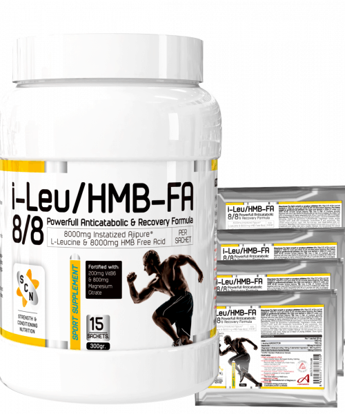 I-LEU/HMB-FA 8/8 – THE REAL ANTI-CATABOLIC FORMULA – INSTANTIZED AJIPURE™ L-LEUCINE WITH FREE ACID HMB