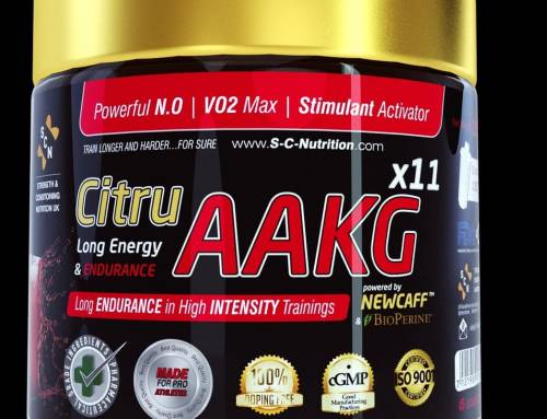 Our new Citru-AAKG x11 formula, 300% more effective than our previous one.