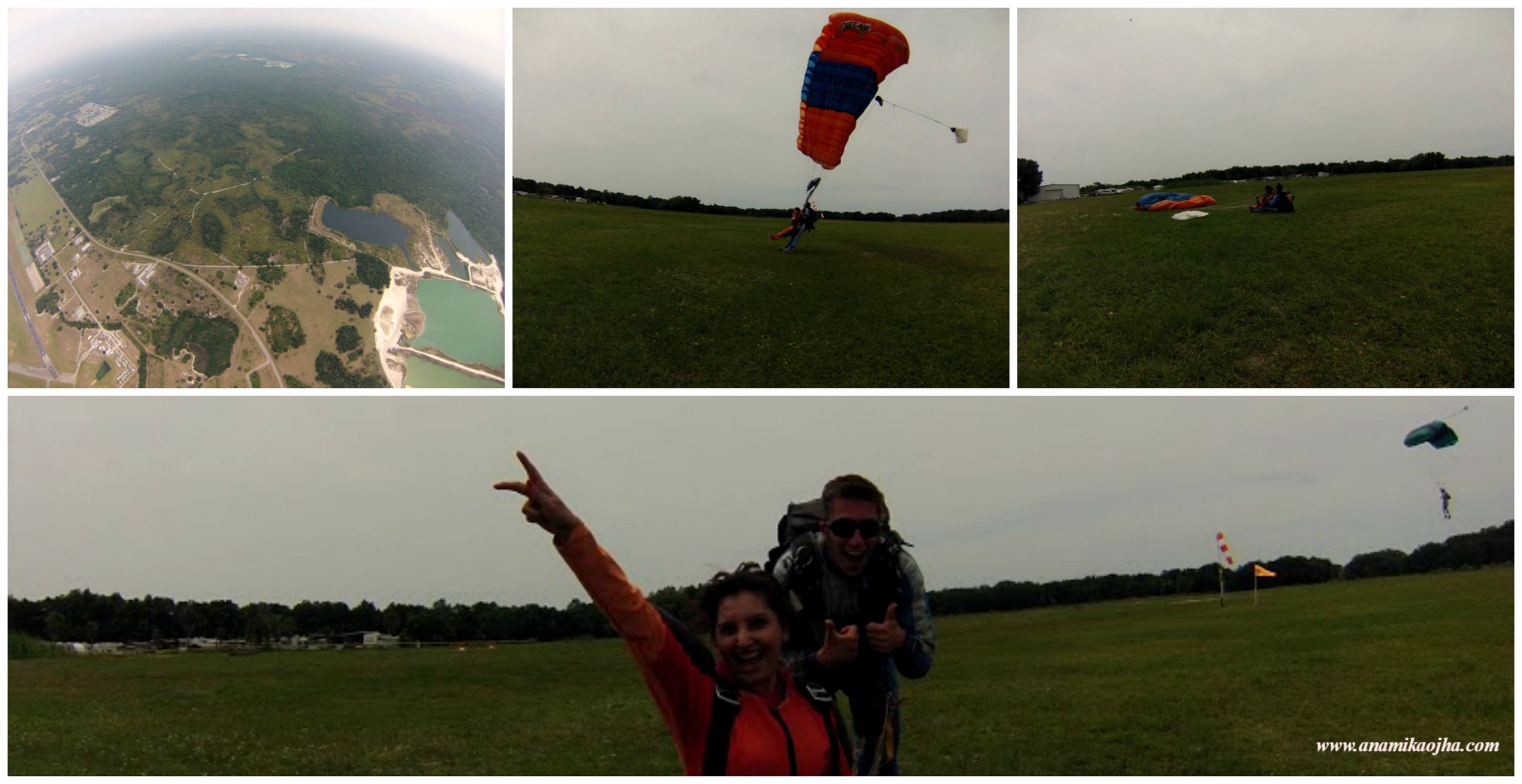 Skydiving: My First Tandem Jump Experience