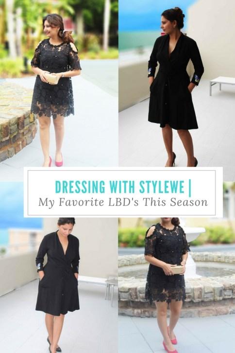 Dressing With StyleWe | My Favorite LBD's This Season