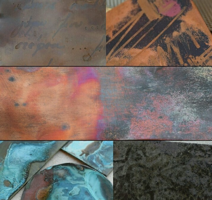Patinas : Oxidations / 2-day workshop /January, 27-28 2018