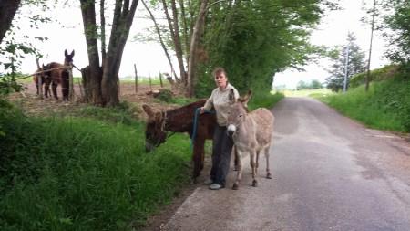 Rimelle et Pénélope se mettent en route